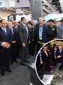 الرئيس السيسى خلال افتتاح معرض إيدكس 2018
