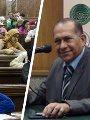الدكتور ناجى عبد المؤمن عميد كلية الحقوق بجامعة عين شمس
