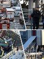 جانب من حادث القطار فى تركيا