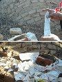 اليوم السابع يرصد أعمال سحر وشعوذة وتعاطى للمخدرات فى مقابر أبوتيج