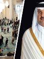 تميم بن حمد و مسجد فى أوروبا