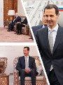 الرئيس الأسد والرئيس البشير