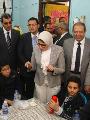 وزيرة الصحة تؤكد تطعيم 16 مليون طفل ضد شلل الأطفال الشهر الماضى
