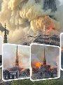 """حرام على مصر.. حلال على فرنسا ..ماكرون يستعين بجنرال جيش لإعادة بناء نوتردام.. لم نسمع أى انتقاد إعلامى أو """"فيسبوكى"""" لاختيار """"عسكرى"""" لقيادة الترميم ..والقرار يعكس الثقة  الكبيرة فى المؤسسة العسكرية"""