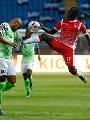 نسور نيجيريا تسعى لاستعراض قوتها أمام غينيا