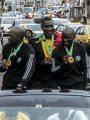 الكاميرون تحتفل بحكام نهائي أمم أفريقيا فى شوارع العاصمة.. صور