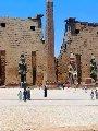 نقابة المرشدين السياحيين تنظم جولة لشرح نصوص هيلوغريفية بمعبد الأقصر