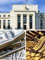 الذهب والدولار- ارشيفية