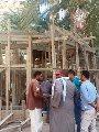 الصور الأولى لضريح أبوالإخلاص الزرقانى بعد نقله لميدان أبوالعباس بالإسكندرية