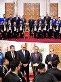 الرئيس السيسى يستقبل منتخب شباب اليد بقصر الرئاسة
