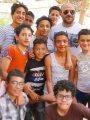 """""""ابن البلد"""" أحمد مكى يتوسط أطفالا فى صورة جديدة"""
