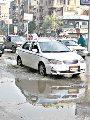 سقوط أمطار خفيقة مصحوبة بالبرق والرعد على طور سيناء
