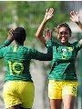 شابات جنوب أفريقيا يفزن على سيشيل 28-0 فى كأس كوسافا.. صور
