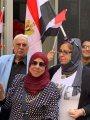صور.. أبناء الجالية المصرية بأمريكا يحتفلون بالرئيس على أنغام الأغانى الوطنية
