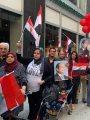 المصريون في نيويورك يتفاعلون مع أغنية تسلم الأيادى ترحيبًا بالرئيس