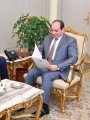 """السيسى يتسلم دعوة من """"سلفا كير"""" لحضور مفاوضات السلام السودانية"""