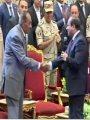 الرئيس السيسى: المشير طنطاوى قائد عظيم قاد البلاد فى أصعب الفترات