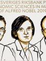 أمريكى وهندى وفرنسية يفوزون بجائزة نوبل فى الاقتصاد لعام 2019