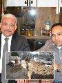 اللواء عبد المجيد صقر محافظ السويس خلال حواره مع الزميل السيد فلاح