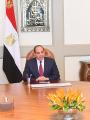 الرئيس عبد الفتاح السيسي - الدكتور محمد العصار وزير الإنتاج الحربي