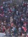 الجيش اللبنانى يعيد فتح الطرق فى صيدا جنوبى البلاد