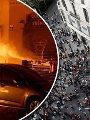 كتالونيا اسبوع كامل من الاحتجاجات واتساع لدائرة العنف