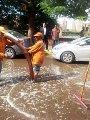 رفع مياه الأمطار