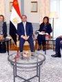 السيسى ووزيرة دفاع ألمانيا يتفقان علي الاستمرار في تطوير التعاون العسكرى