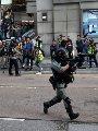 اندلاع احتجاجات فى هونج كونج قبل اجتماع بين الرئيس الصينى ورئيسة المدينة