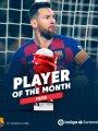 """ميسي يحصد جائزة """"لاعب الشهر"""" فى الدوري الإسباني"""