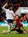 محمد صلاح يسجل ثالث أهداف ليفربول ضد بورنموث فى مباراته 100 بالبريميرليج