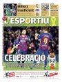 الصحافة الإسبانية تحتفل بهاتريك ميسي مع برشلونة ضد مايوركا.. صور