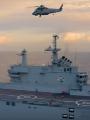 شاهد.. غواصة وميسترال وصاروخ مداه 130 كم.. قطع بحرية مصرية فى البحر المتوسط