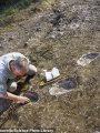 حفريات منذ 50 ألف عام تكشف سير الإنسان البدائى على حمم بركانية سائلة.. صور