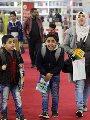 صور.. رواد معرض القاهرة للكتاب يبدأون التوافد وتكثيف أمني لتسهيل الحركة الزائرين
