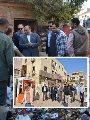 اللواء محمود شعراوي وزير التنمية المحلية خلال جولته
