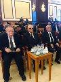 أحمد عز وفتحى سرور وزكريا عزمى فى جنازة حسنى مبارك.. صور