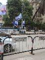 فيديو.. استمرار وضع حواجز مرورية بكورنيش التحرير فى إجازة العيد
