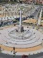 شاهد آخر أعمال تطوير ميدان التحرير وسط القاهرة