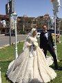شاهد.. الزواج فى زمن الكورونا.. زفاف بدون معازيم والحفلة فوتوسيشن بالتجمع