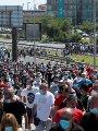 احتجاجات امام شركة نيسان باسبانيا