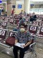 صور..التزام المواطنين بالكمامات بالأحوال المدنية والجوازات والمرور