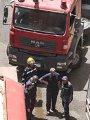 نشوب حريق داخل مستشفى الجامعة بكفر الشيخ.. والمحافظ ينتقل لموقع الحادث