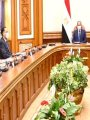 الرئيس عبد الفتاح السيسى فى اجتماع الحكومة