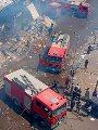 فيديو.. 20 سيارة مطافى.. ماذا يحدث في سوق توشكى بحلوان