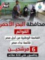 37 مرشحا يتنافسون على 6 مقاعد بانتخابات النواب بمحافظة البحر الأحمر.. إنفوجراف