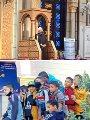 وزير الأوقاف ومحافظ أسيوط يفتتحان مسجد الأمير سنان بديروط.