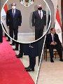 لقاء الرئيس عبد الفتاح السيسى مع العاهل الأردنى فى عمان