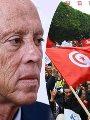 تظاهرات فى تونس