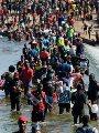 مهاجرين على الحدود الامريكية